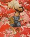 2007油畫比賽-台灣花布系列-台灣紅