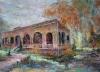 2004油畫比賽-領事館-走過從前