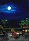 2005油畫比賽-乘涼賞月