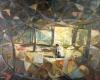 2005油畫比賽-編竹簍的婦人
